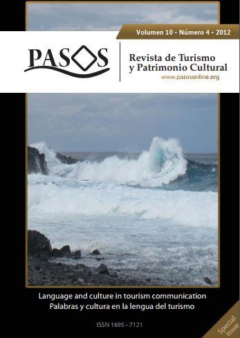 PASOS Revista de Turismo y Patrimonio Cultural 10(4), 2012