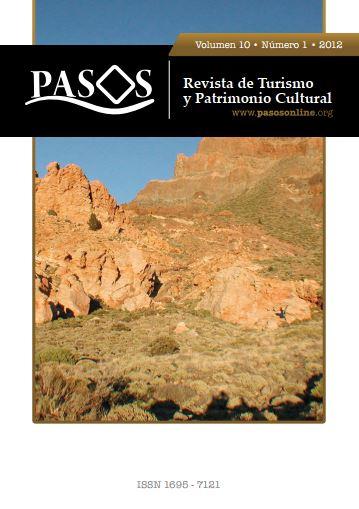 Ver Vol. 10 Núm. 1 (2012): PASOS Revista de Turismo y Patrimonio Cultural 10(1), 2012.