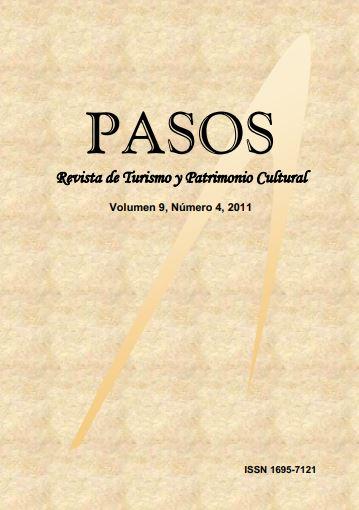 Ver Vol. 9 Núm. 04 (2011): PASOS Revista de Turismo y Patrimonio Cultural 09(4), 2011