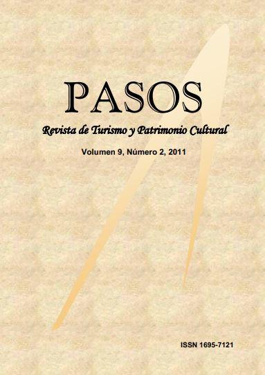 Ver Vol. 9 Núm. 2 (2011): PASOS Revista de Turismo y Patrimonio Cultural 09(2), 2011
