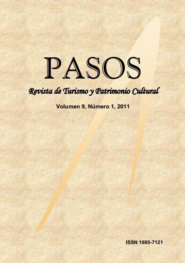 Ver Vol. 9 Núm. 1 (2011): PASOS Revista de Turismo y Patrimonio Cultural 09(1), 2011