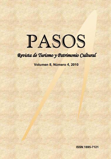 Ver Vol. 8 Núm. 4 (2010): PASOS Revista de Turismo y Patrimonio Cultural 08(4), 2010