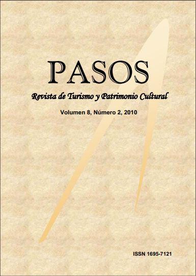 Ver Vol. 8 Núm. 2 (2010): PASOS Revista de Turismo y Patrimonio Cultural 08(2), 2010