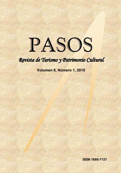 Ver Vol. 8 Núm. 1 (2010): PASOS Revista de Turismo y Patrimonio Cultural 08(1), 2010