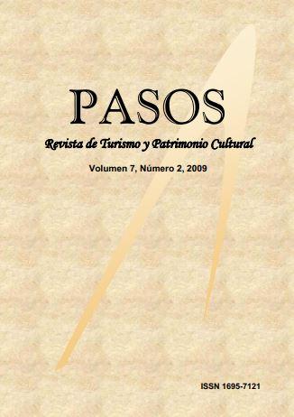 Ver Vol. 7 Núm. 2 (9): PASOS Revista de Turismo y Patrimonio Cultural 07(2), 2009