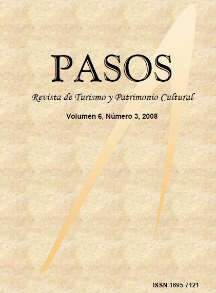 Ver Vol. 6 Núm. 3 (2008): PASOS Revista de Turismo y Patrimonio Cultural 06(3), 2008
