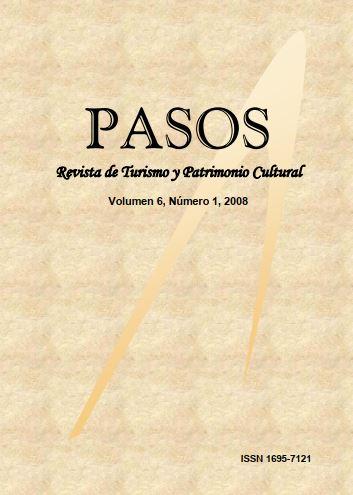 Ver Vol. 6 Núm. 1 (2008): PASOS Revista de Turismo y Patrimonio Cultural 06(1), 2008