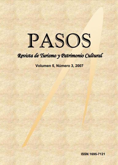 Ver Vol. 5 Núm. 3 (2007): PASOS Revista de Turismo y Patrimonio Cultural 05(3), 2007