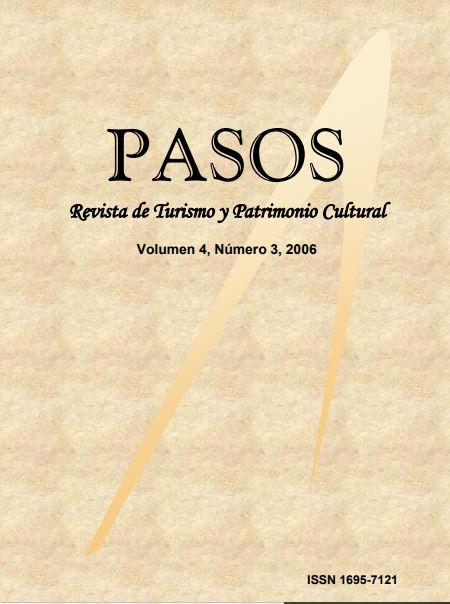 Ver Vol. 4 Núm. 3 (2006): PASOS Revista de Turismo y Patrimonio Cultural 04(3), 2006