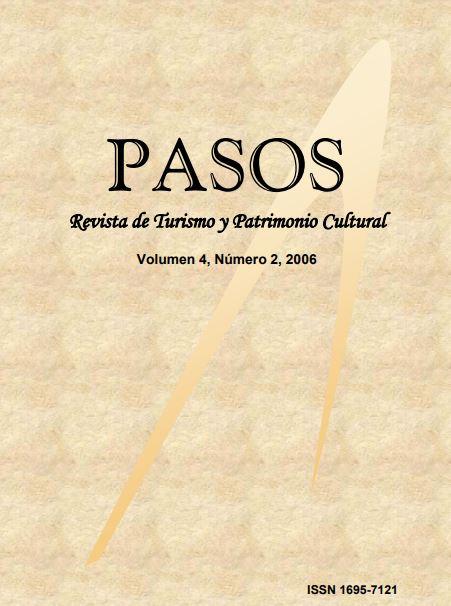 Ver Vol. 4 Núm. 2 (2006): PASOS Revista de Turismo y Patrimonio Cultural 04(2), 2006