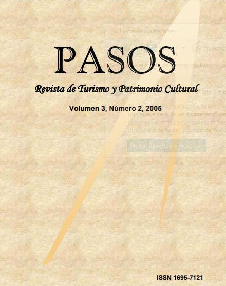 Ver Vol. 3 Núm. 2 (2005): PASOS Revista de Turismo y Patrimonio Cultural 03(2), 2005