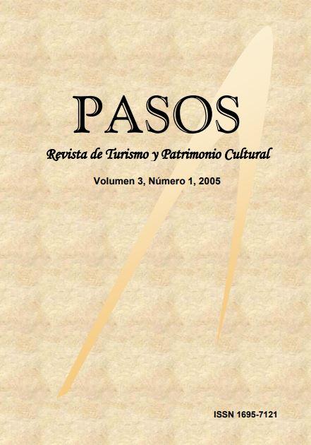 Ver Vol. 3 Núm. 1 (2005): PASOS Revista de Turismo y Patrimonio Cultural 03(1), 2005