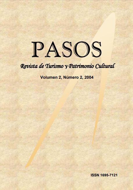 Ver Vol. 2 Núm. 2 (2004): PASOS Revista de Turismo y Patrimonio Cultural 02(2), 2004