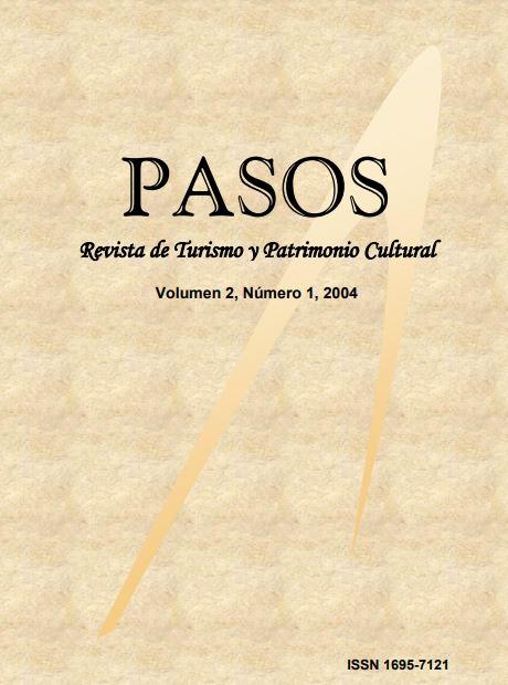 Ver Vol. 2 Núm. 1 (2004): PASOS Revista de Turismo y Patrimonio Cultural 02(1), 2004