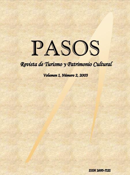 Ver Vol. 1 Núm. 2 (2003): PASOS Revista de Turismo y Patrimonio Cultural 01(2), 2003