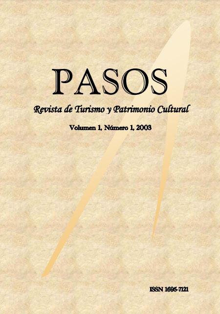 Ver Vol. 1 Núm. 1 (2003): PASOS Revista de Turismo y Patrimonio Cultural 01(1), 2003